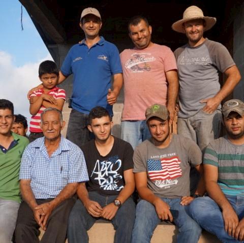 エル・プラン・農園のコーヒー生産者達